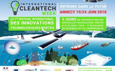 """Conférence """"Entrons dans la boucle de l'économie circulaire"""" à l'International Clean Tech Week d'Annecy"""
